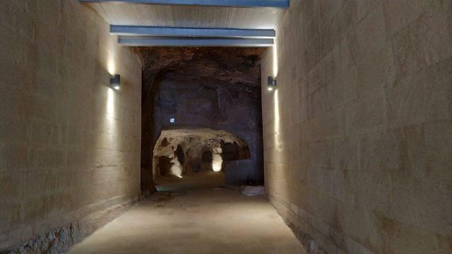 kaymaklı yeraltı girişi