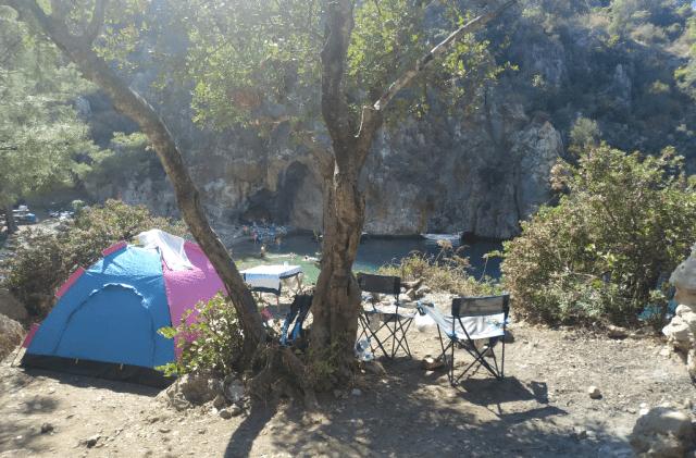 korsan koyu ücretsiz kamp alanları