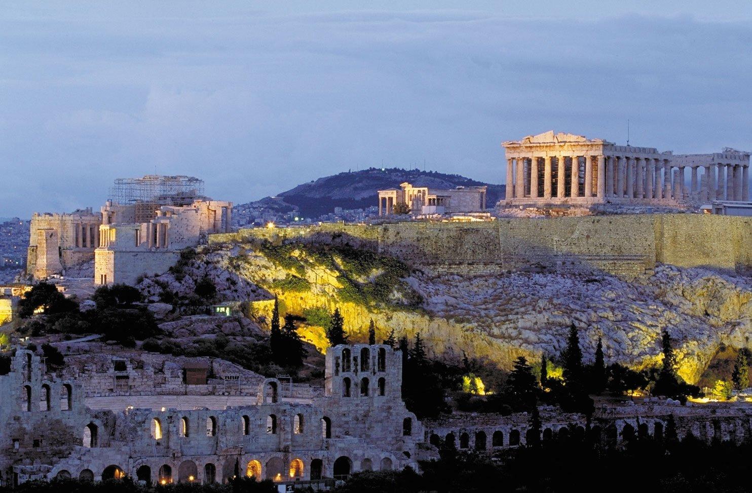 Atina Akropolisi Partenon Tapınağı günümüz