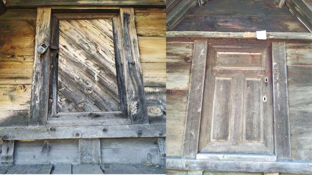 Bezirgan Tahıl Ambarları kapı örnekleri