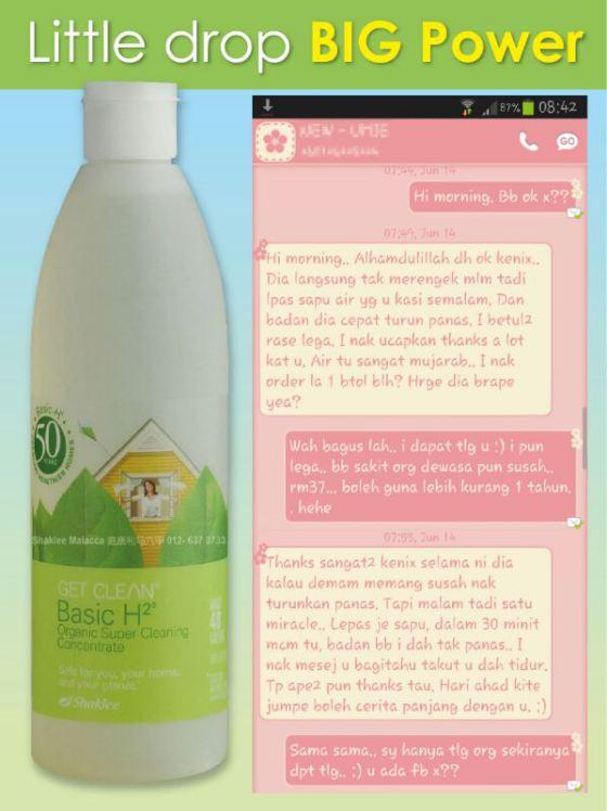 Rawat demam bayi 7 bulan - Natural remedy vs Natural Vitamin (5/6)