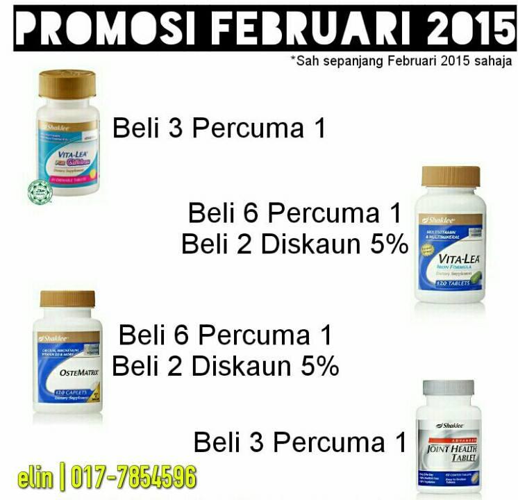 Promosi Feb 2015 ~ Set hamil dan set sendi paling hot (1/3)