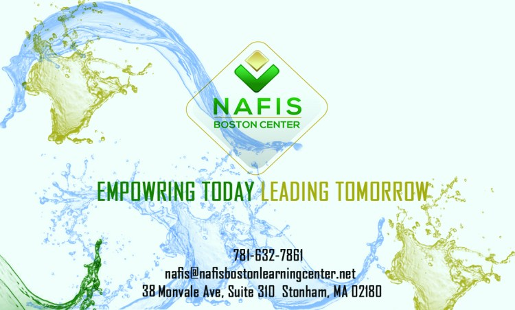 NAFIS BUSNESS CARD FRONT
