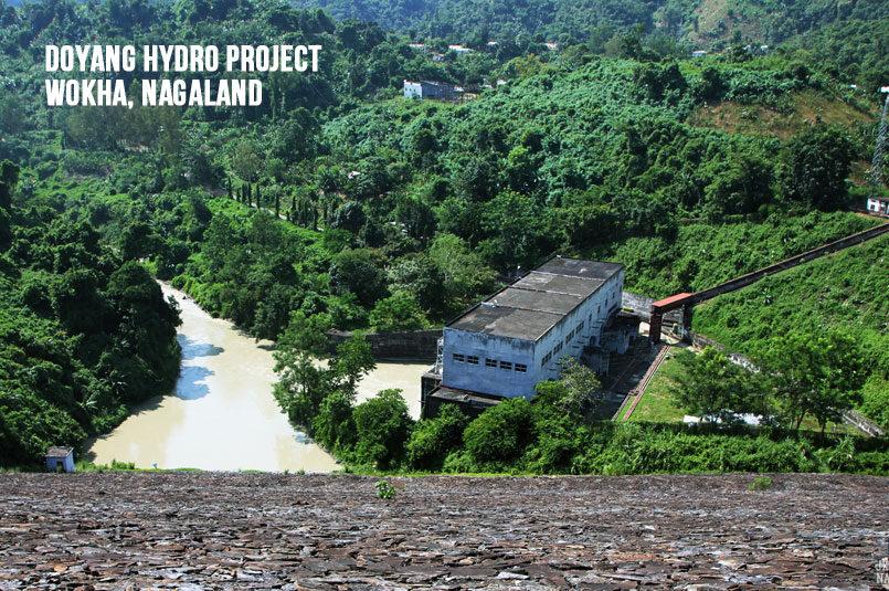 Doyang Hydro Project, Wokha, Nagaland