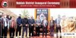 Noklak district inauguration