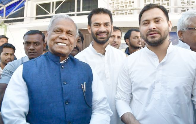 Jitan Ram Manjhi quits NDA, to join  RJD-led Grand Alliance in Bihar