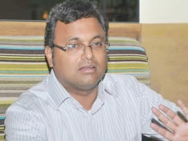 Allegations against me are  politically motivated: Karti