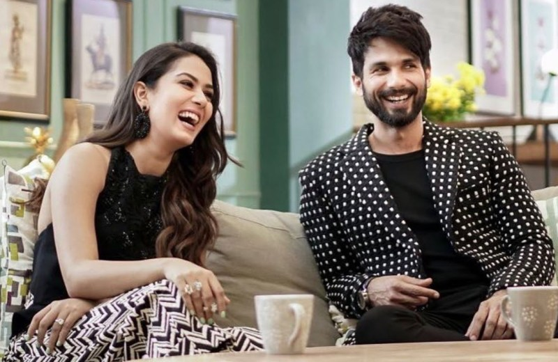 Mira Rajput once kicked Shahid Kapoor out of their home