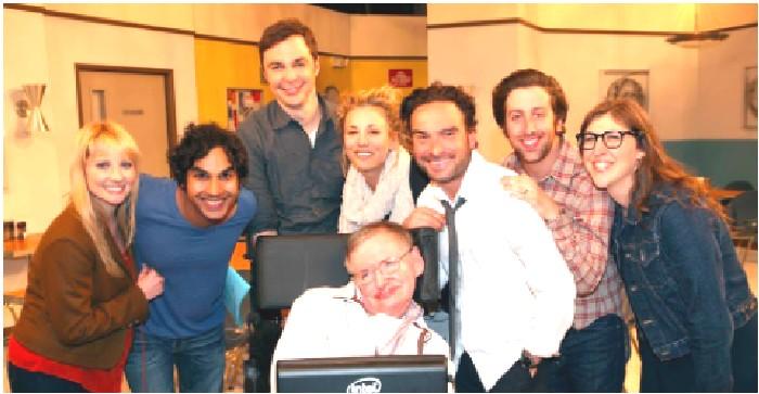 TBBT actor Jim Parsons honours Stephen Hawking