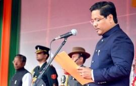 Conrad Sangma sworn in as Meghalaya chief minister