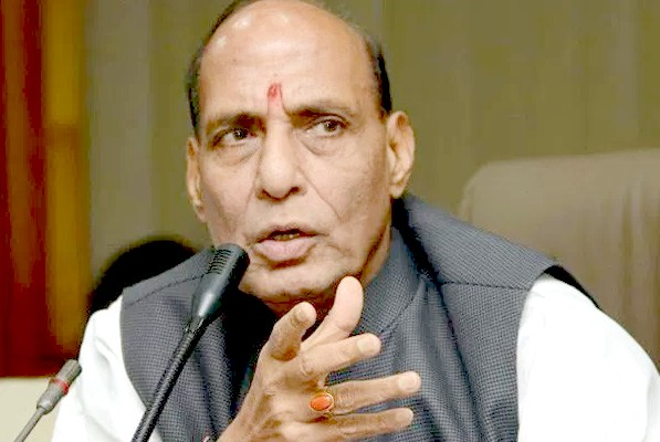 "Security situation in NE has  improved ""drastically"": Rajnath"