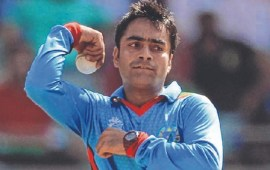 Rashid Khan becomes youngest captain in international cricket