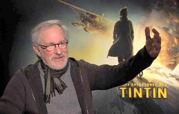 Tintin is not dead: Steven Spielberg