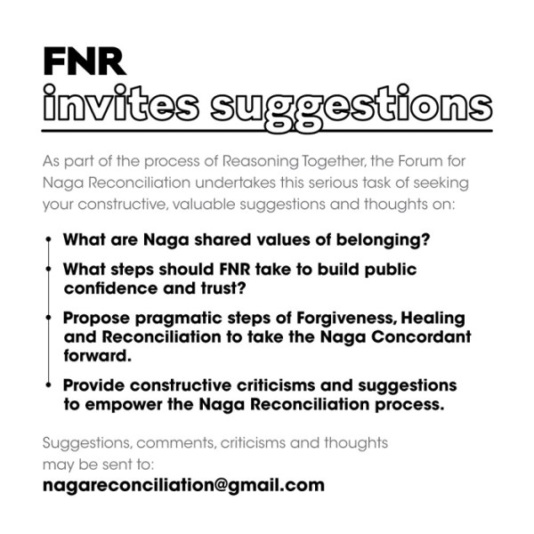 FNR invites suggestions