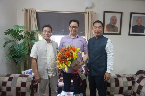 Toshi Wungtung calls on Union Ministers