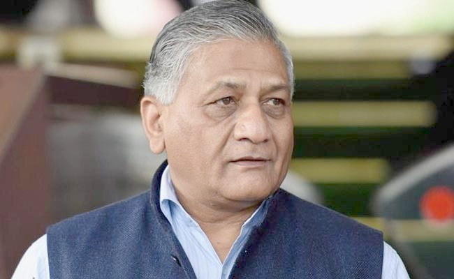 Govt job is not like distribution of biscuits: VK Singh