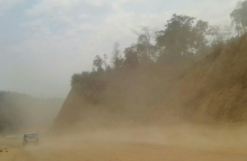 Ongoing four-lane project works causing dust pollutions: MTYO