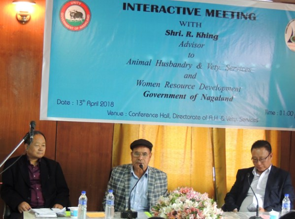 Khing stresses on increasing livestock production