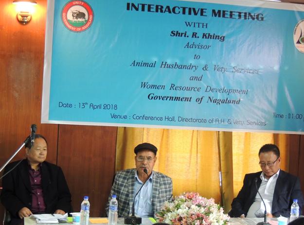 Khing stresses on increasing livestock production