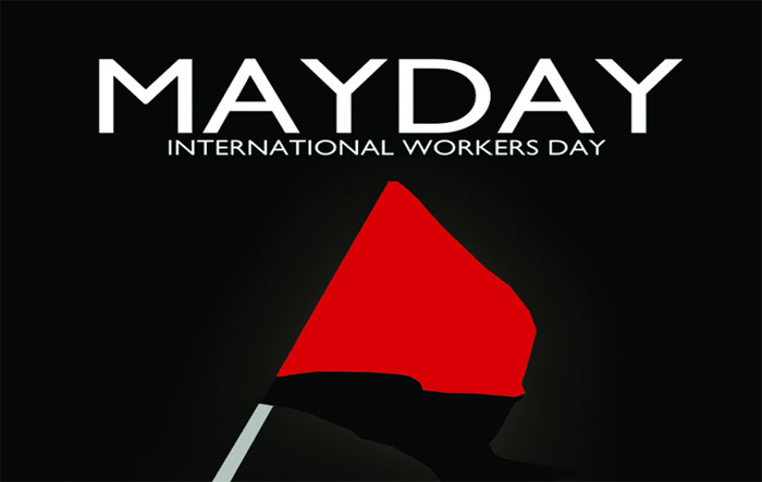 Guv greet workers on May Day