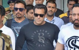 Salman gets 5-year jail term  in blackbuck poaching case