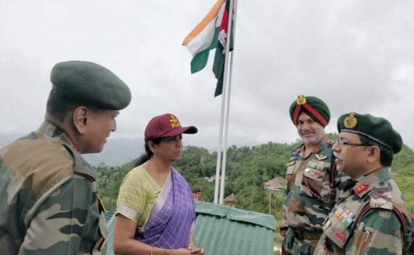 Sitharaman reviews border  security situation in Nagaland