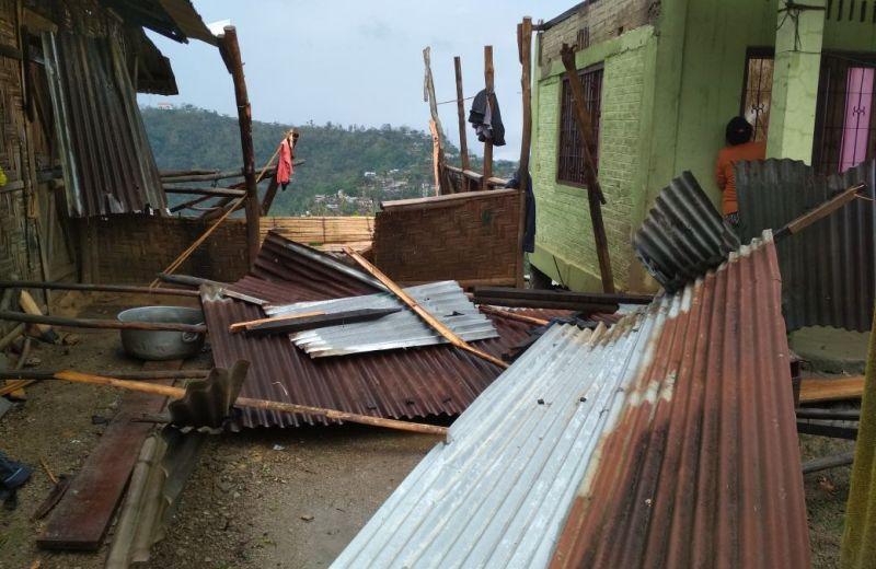 Heavy rain lashes Akuluto town