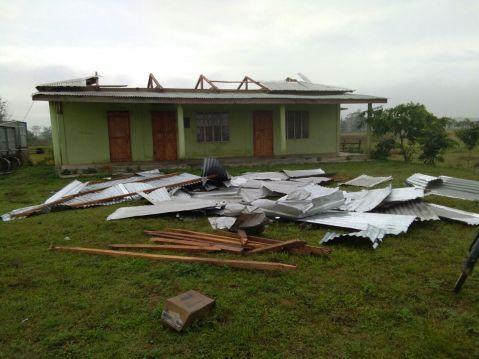 Cyclonic storm hits Aghunaqa area
