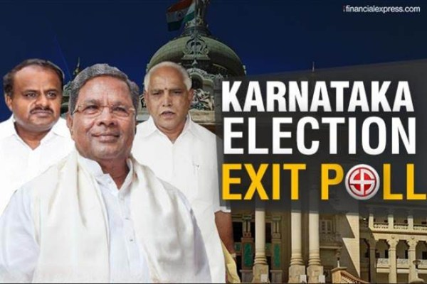 Exit polls predict hung  assembly in Karnataka