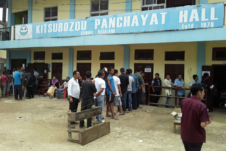 Nagaland LS bye-poll passes off peacefully with 75% turn out