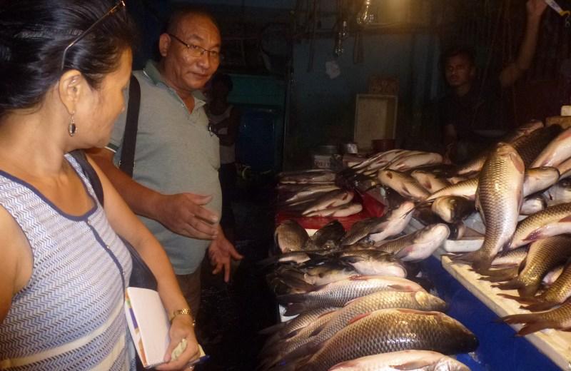 Raids conducted in fish markets at Dimapur