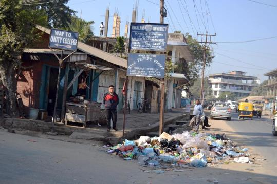 Nagaland is 2nd dirtiest State in India