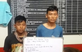 Dimapur police cracks triple murder case, 2 arrested