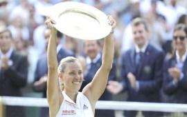 Angelique Kerber stuns Serena Williams to  win maiden Wimbledon title