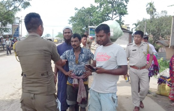 Nagaland steps up vigil along Assam border