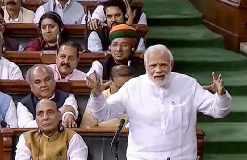 Modi govt defeats no-confidence  motion, gets more than two-third votes