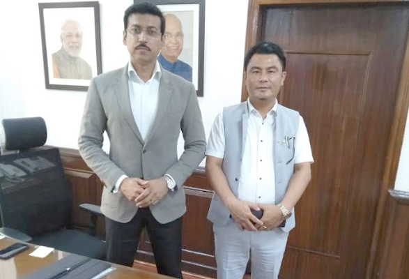 Zale calls on MoS Col Rathore