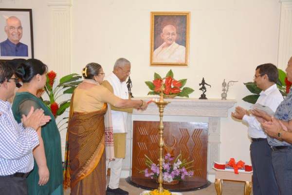 Nagaland Governor  completes 4 years in office