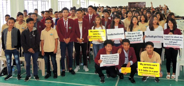 """NSF initiates campaign on """"No to false scholarships claims"""""""