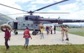 IAF drops essential  commodities at Kiphire