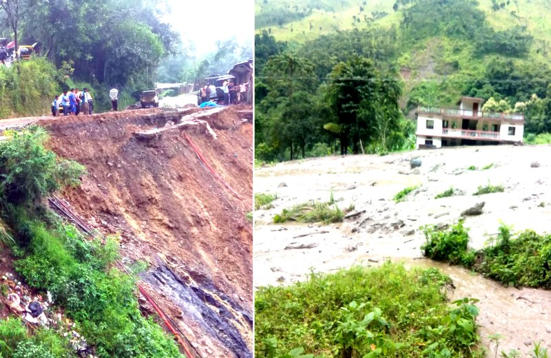 Nagaland Govt takes stock of disaster caused by incessant rainfall