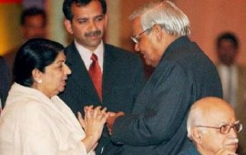 Lata Mangeshkar dedicates unreleased song to Vajpayee