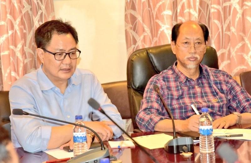 Rijiju assures all support as  Nagaland battles monsoon fury