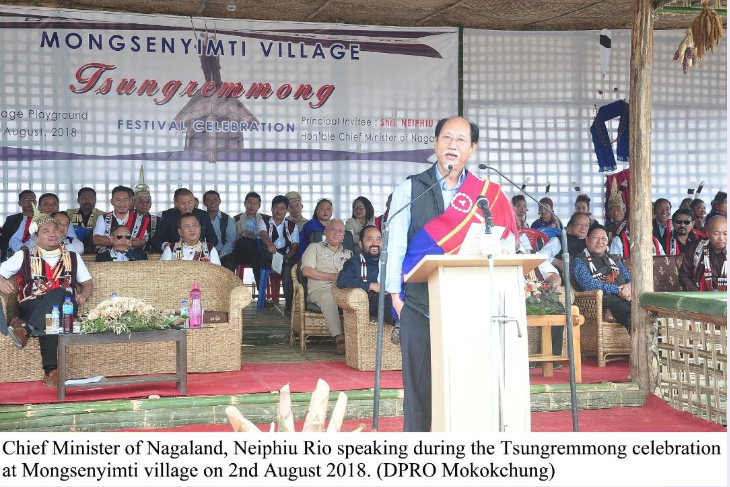 Naga political issue is in advanced stage: Rio