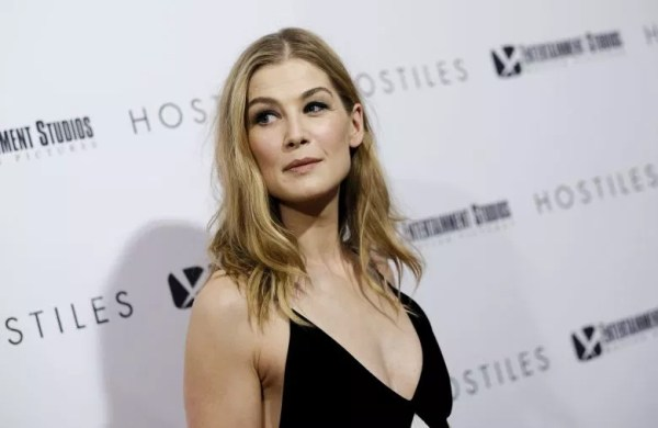Rosamund Pike was asked to strip at her audition for role in Bond movie