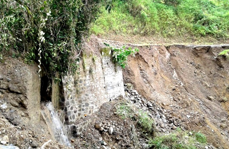 Incessant rains continue to play havoc in Nagaland