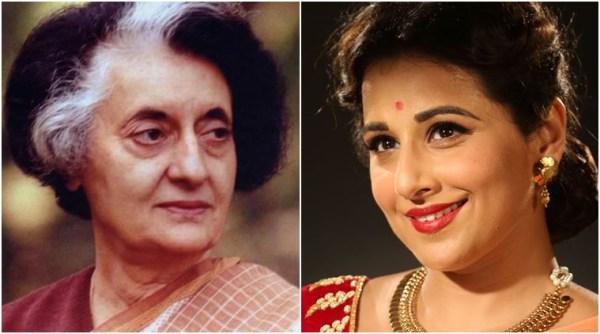 Vidya Balan to play Indira Gandhi