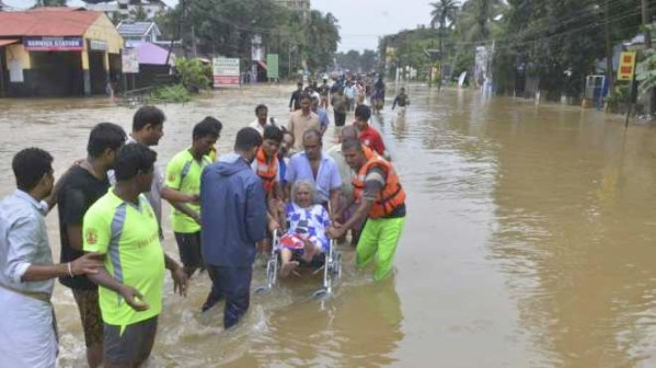 Centre releases Rs 600 cr to  flood-hit Kerala; Waives off customs duty, GST on relief materials