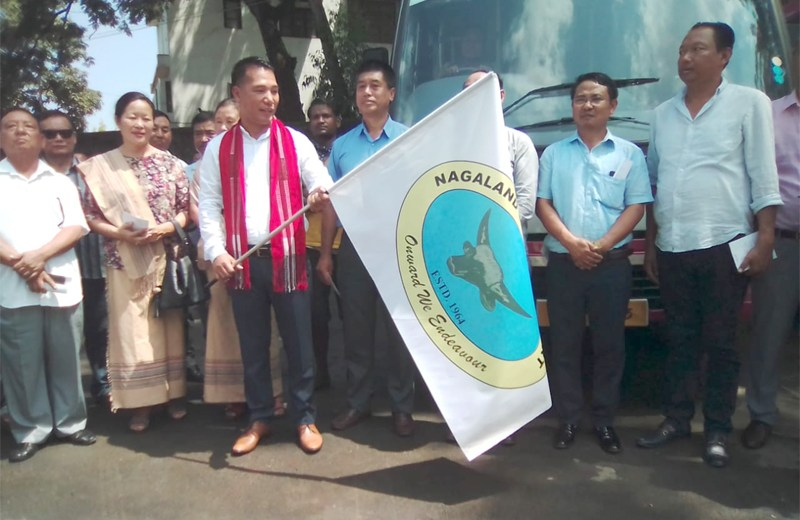 City bus service resumes in Dimapur