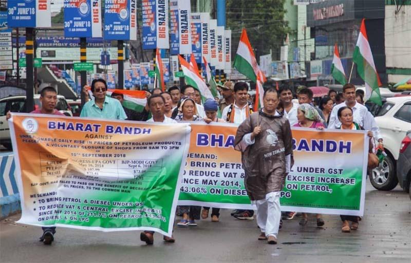 Bharat Bandh evokes mixed response in Nagaland